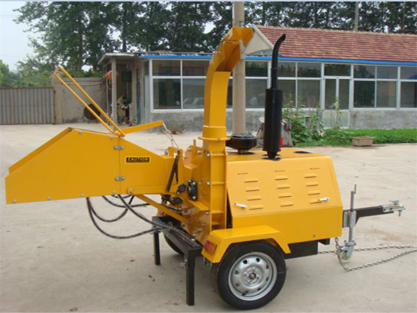 Yellow Wood Chipper